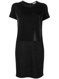 однотонное платье-футболка D.Exterior