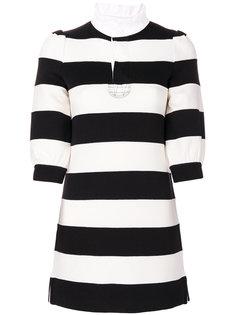 платье мини в полоску  Marc Jacobs