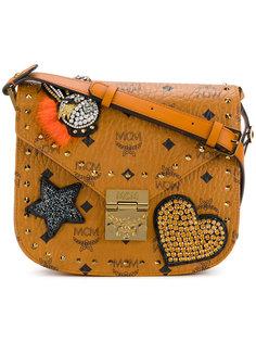 маленькая сумка Patricia с украшением из кристаллов MCM