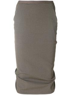 юбка-карандаш Rick Owens