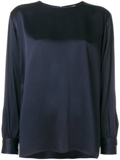 классическая блузка шифт Yves Saint Laurent Vintage