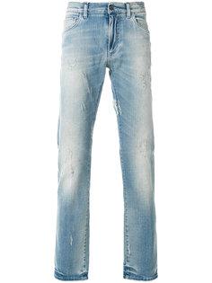 узкие джинсы с протертостями Dolce & Gabbana
