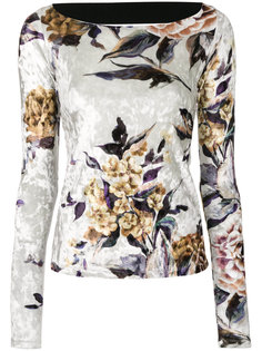 свитер с цветочной вышивкой Mm6 Maison Margiela