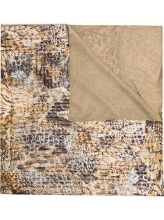 шарф с животным принтом Pierre-Louis Mascia