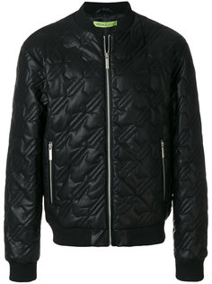 стеганая куртка-бомбер  Versace Jeans