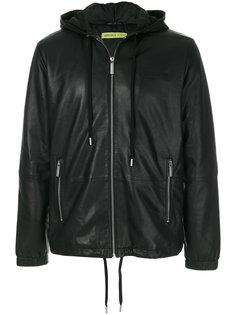 куртка на молнии с логотипом Versace Jeans