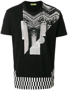 футболка с фото-принтом Versace Jeans