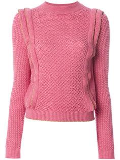 свитер с оборкой  Philosophy Di Lorenzo Serafini
