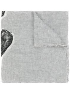 шарф с сердцами Faliero Sarti