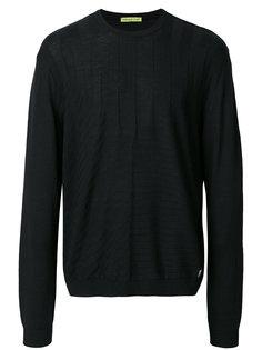фактурный свитер Versace Jeans