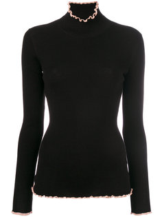 свитер с высоким горлом Carven