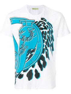 футболка с графическим принтом Versace Jeans