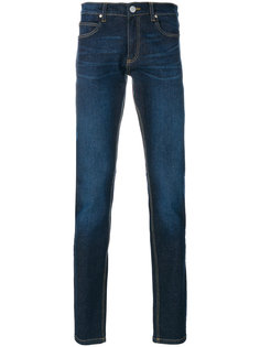 джинсы с вышивкой Versace Jeans