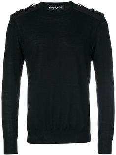 свитер с эполетами Neil Barrett