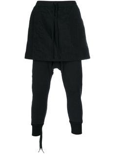 спортивные брюки с юбкой Unravel Project