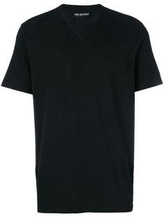 футболка с V-образным вырезом Neil Barrett