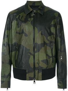 камуфляжная куртка-бомбер Neil Barrett