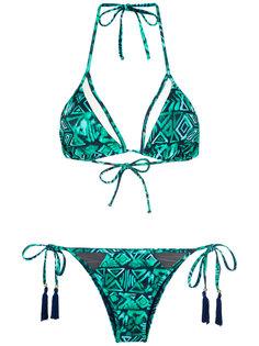 printed triangle bikini set Brigitte