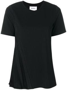 классическая приталенная футболка  DKNY