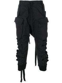 укороченные брюки карго Unravel Project