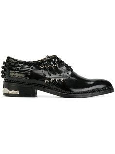 ботинки с декоративной шнуровкой Toga Pulla