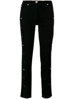 укороченные брюки с заклепками Medusa Versace