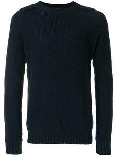 свитер с деталью в виде погонов Maison Flaneur