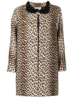 леопардовое пальто Antonio Marras
