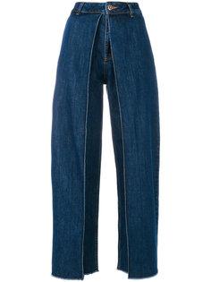 расклешенные джинсы с завышенной талией Aalto
