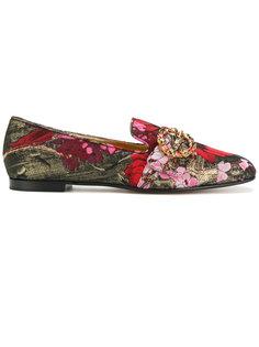 жаккардовые слипперы Dolce & Gabbana