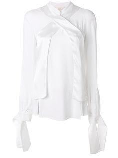 рубашка с отделкой на манжетах  Antonio Berardi