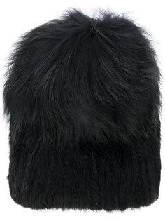 меховая шапка Yves Salomon