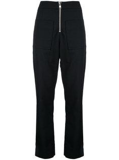 брюки с застежкой-молнией Christopher Esber