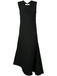 платье с асимметричным краем  Christopher Esber