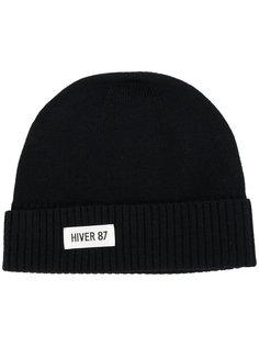 шапка с заплаткой Hiver 87 A.P.C.