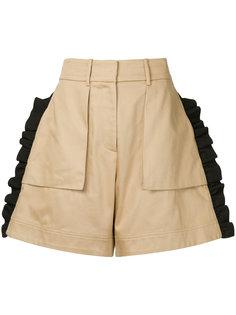 шорты с оборками Public School
