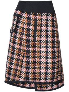 многослойная юбка в клетку Shula  Public School