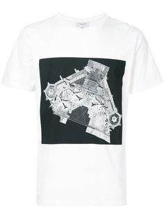 футболка с фото-принтом Public School