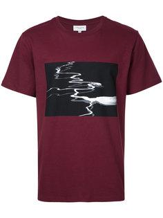 футболка с абстрактным принтом Public School