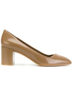 туфли на устойчивом каблуке Salvatore Ferragamo