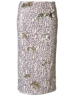 юбка с пайетками  Dorothee Schumacher
