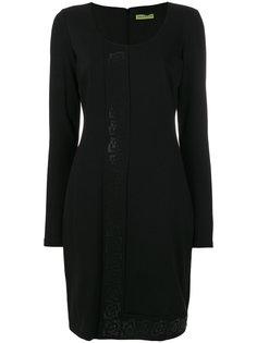 приталенное платье с U-образным вырезом Versace Jeans