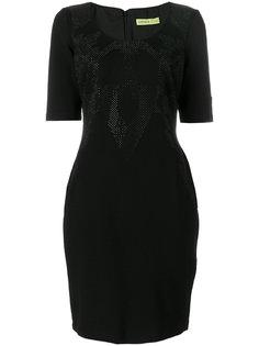 платье с украшением из заклепок Versace Jeans