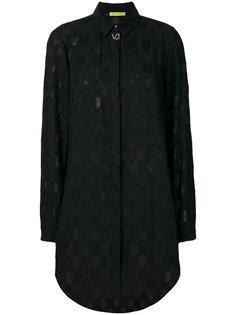 текстурированная рубашка Versace Jeans