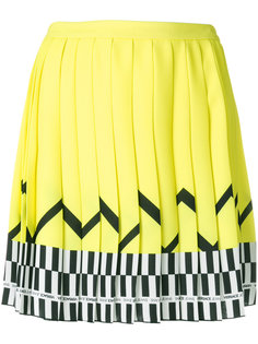pleated patterned skirt Versace Jeans