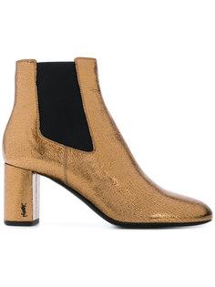 блестящие ботинки челси Saint Laurent