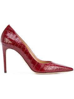 туфли-лодочки с эффектом крокодиловой кожи Dsquared2