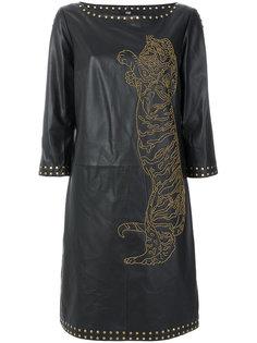 платье свободного кроя Cavalli Class