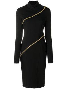 платье с молниями Cavalli Class