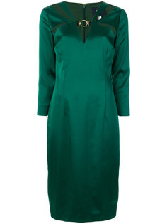 платье с вырезными деталями Cavalli Class